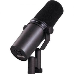 Is Shure SM7B the best budget dynamic microphone for vocals? what is a boom microphone?