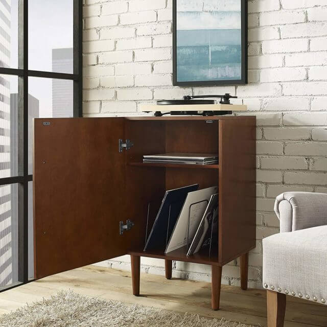 Crosley Everett Record Player Stand review