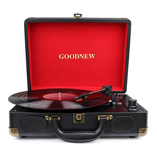 GOODNEW VINYL TURNTABLE review