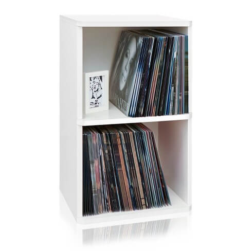 Way Basics Record Storage Cube review