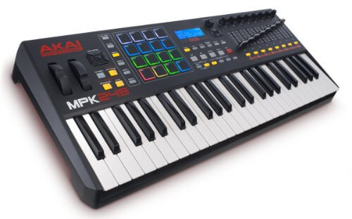 Akai Mpk 249 garageband review