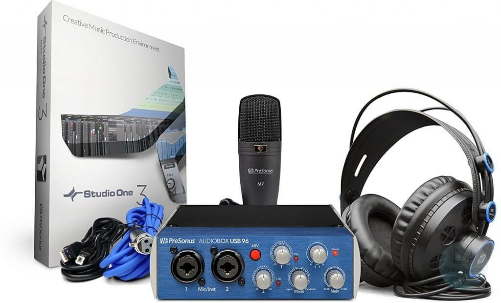 PreSonus Audiobox 96 - Best Bundled Sound Card For Music Production