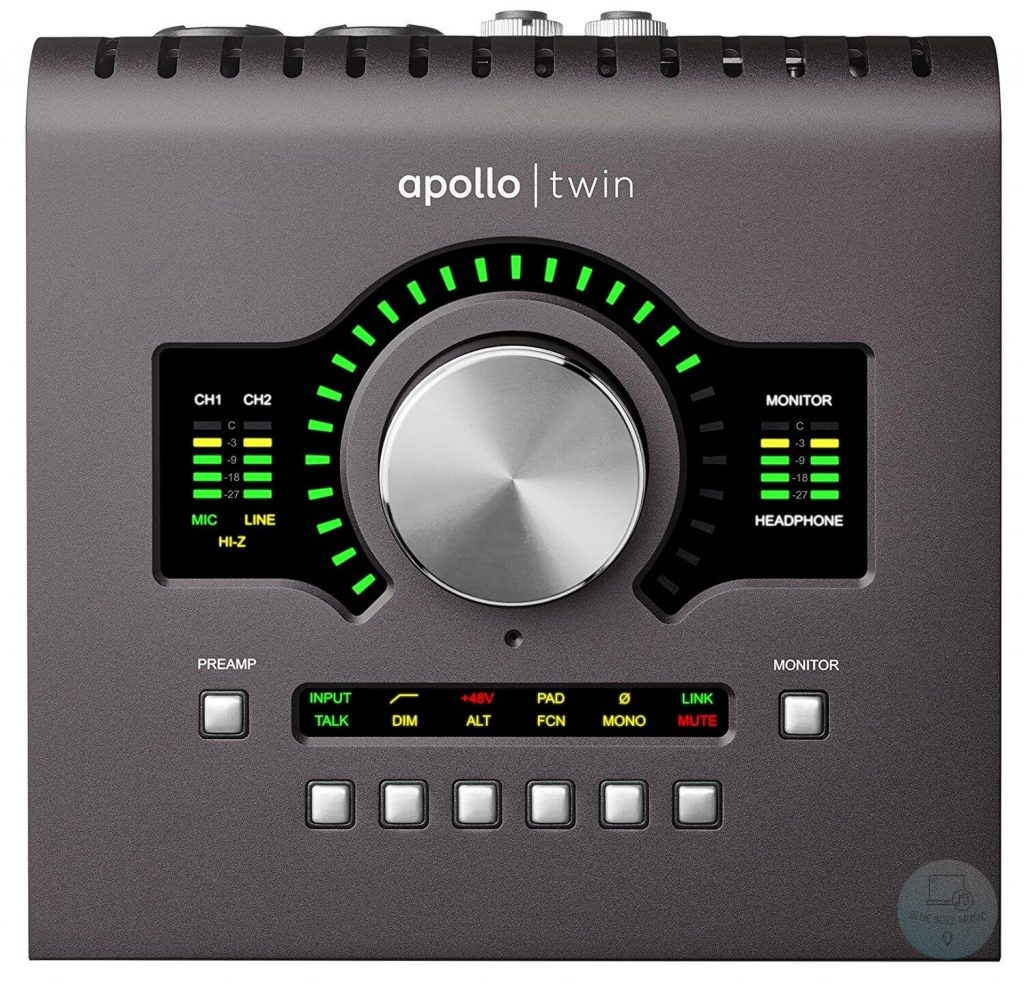 UA Apollo Twin - Best Sound Card For DJs and Audio Engineers