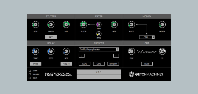 Glitch Machines Hysteresis review