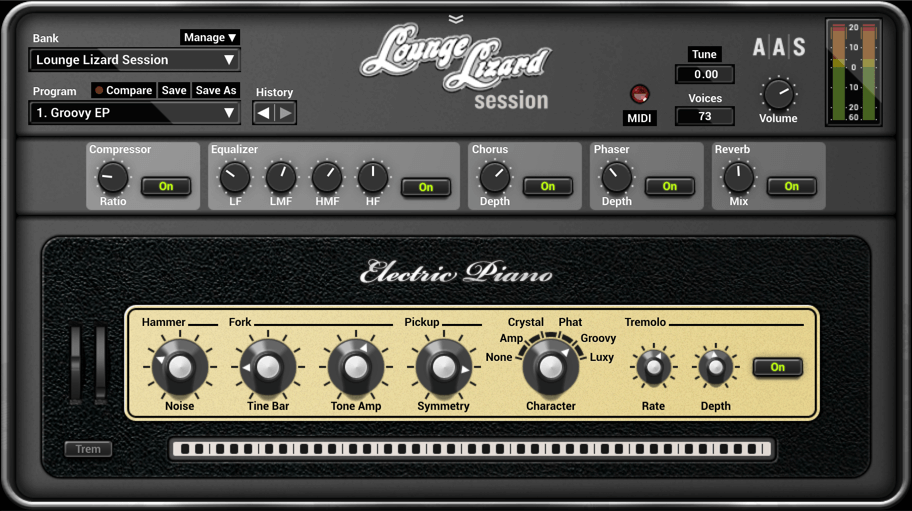Applied Acoustics Lounge Lizard review - rhodes vst plugin for FL studio, ableton, pro tools, logic pro x, cubase