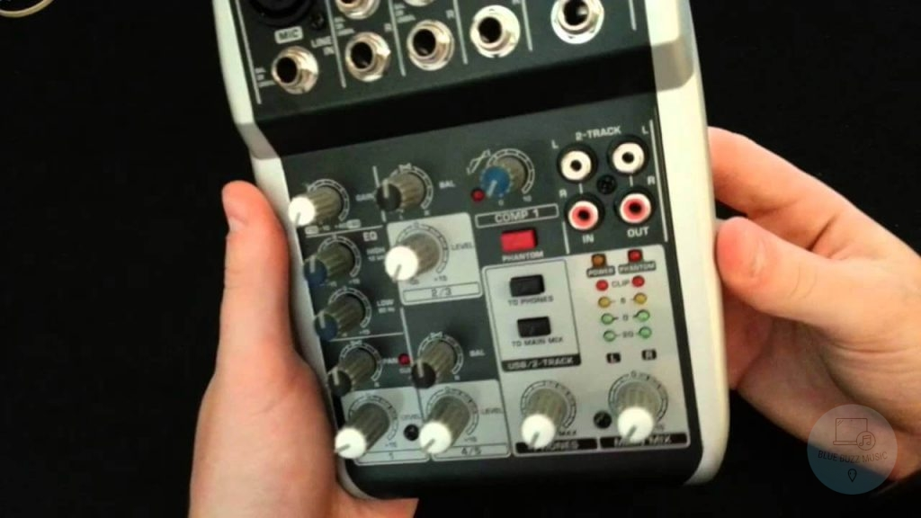 Behringer Xenyx 502 USB Mixer pros and cons