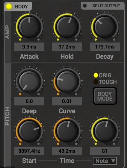 BigKick - Kick Drum Synthesiser - free 808 plugin logic pro x