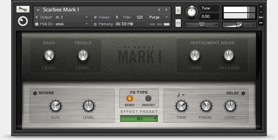 Native Instruments Scarbee Mark I review - best free rhodes vst plugin