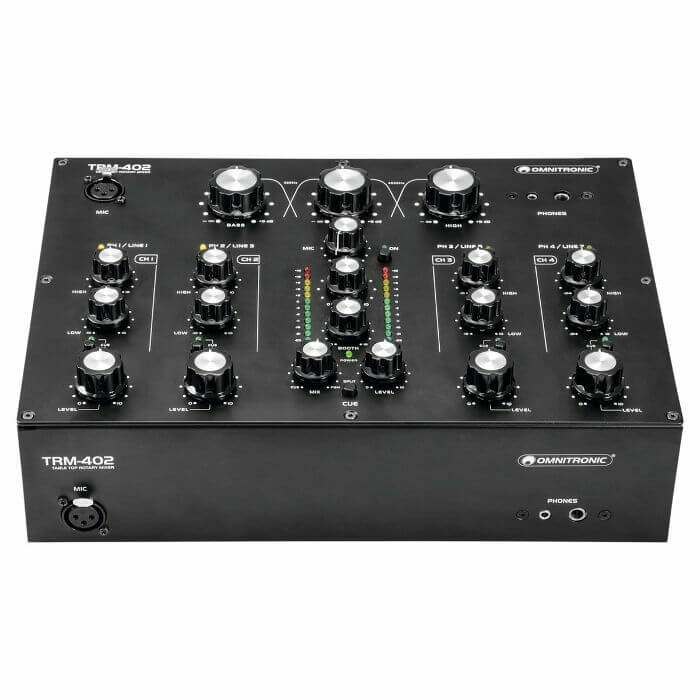 Omnitronic TRM-402 4 Channel rotary mixer