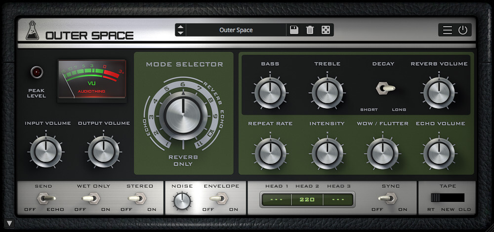 Roland RE-201 Space Echo Tape Delay review - delay plugin vst best