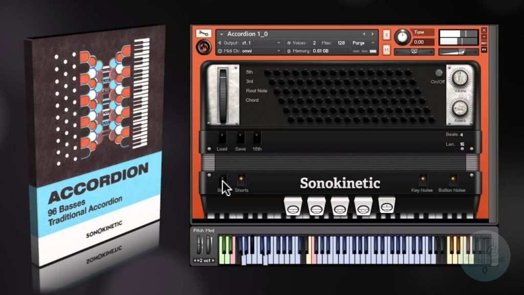 Sonokinetic Accordion review - best accordion VST