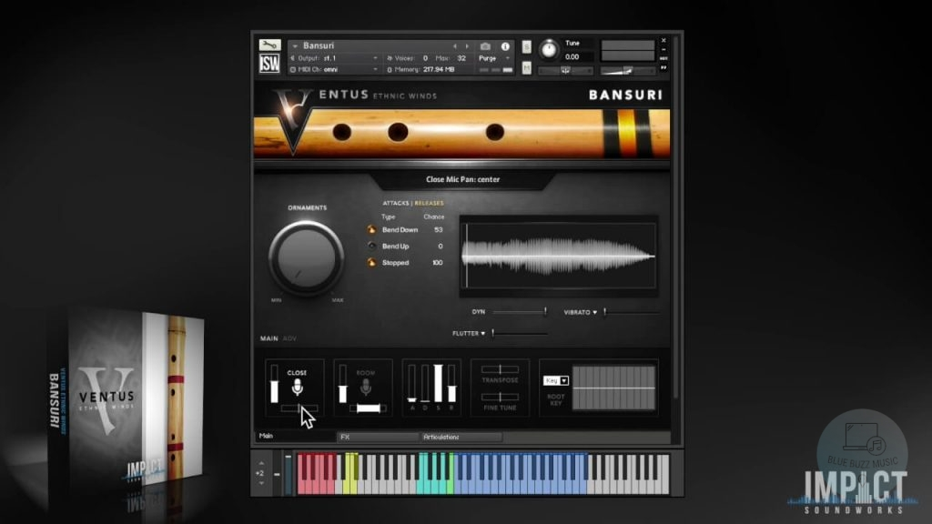 VENTUS ETHINIC WINDS review - indian flute vst plugin