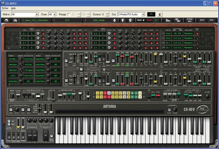 CS-80 V by Arturia - best fl studio sytnh vst plugin