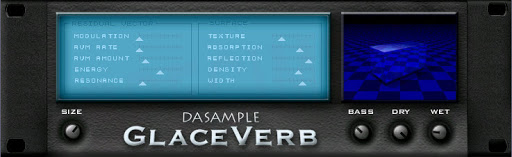 DASAMPLE GLACEVERB review - spring reverb vst free