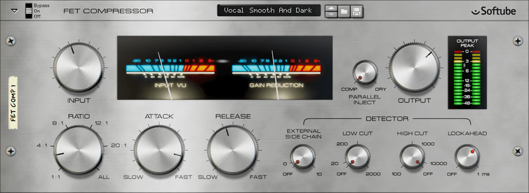 FET Compressor by Softube - best fl studio compressor vst plugin for windows and mac