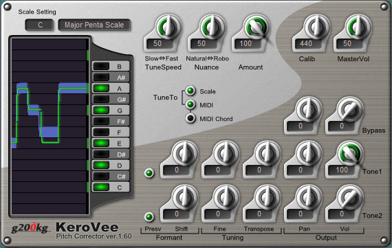 KeroVee review - autotune vst free download