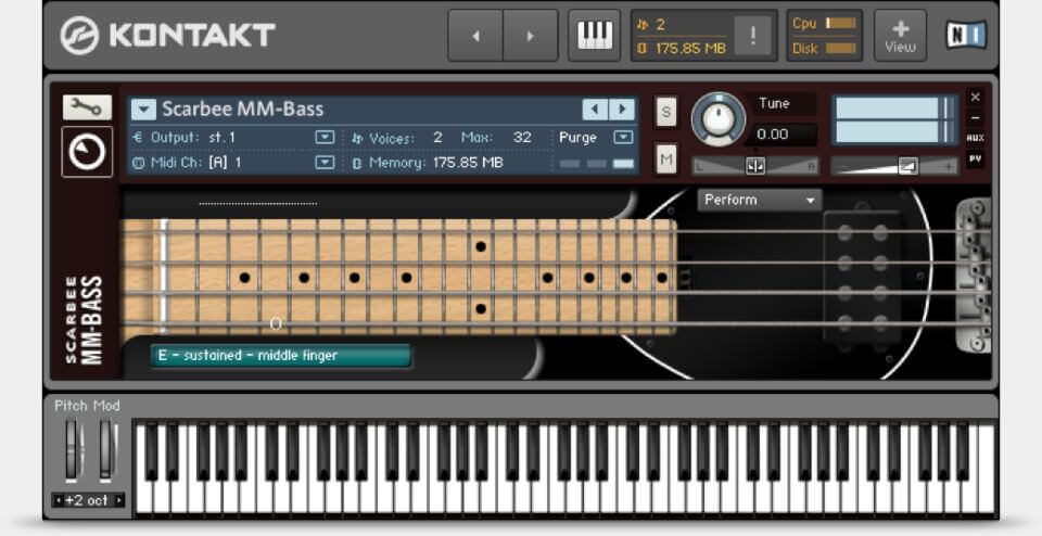 Komplete Native Instruments Scarbee MM-Bass review - best guitar vst plugin free
