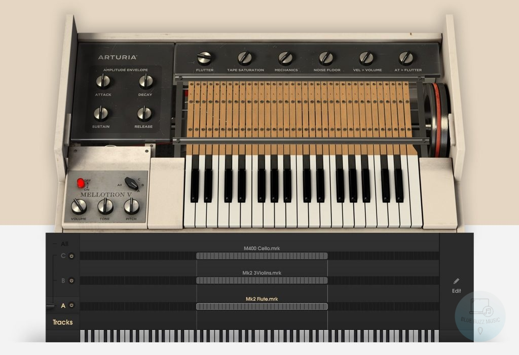 Mellotron V by Arturia review - best mellotron vst plugin for fl studio, ableton, pro tools, logic pro, garage band