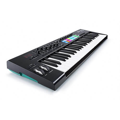 Novation Launchkey 49 keys best midi controller to make beats
