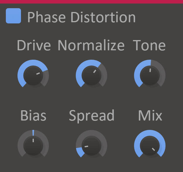 Phase Distortion - best FL Studio distortion vst plugin