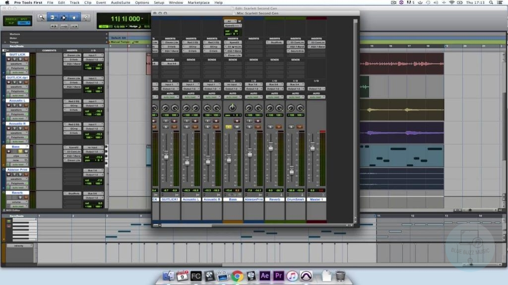Pro Tools First free daw for mac logic pro alternative