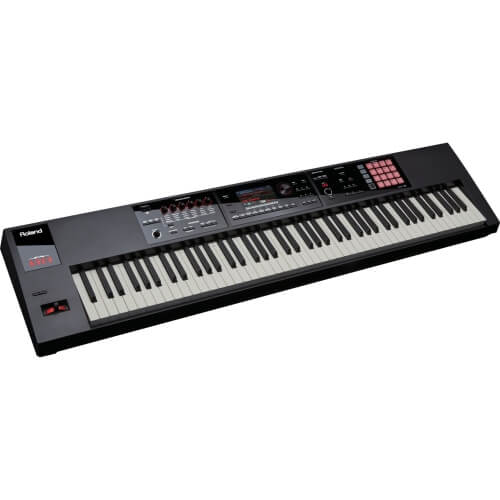 Roland Fantom FA 08 digital keyboard to make beats