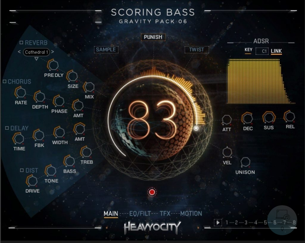 Scoring Bass By Heavyocity review - bass guitar vst best