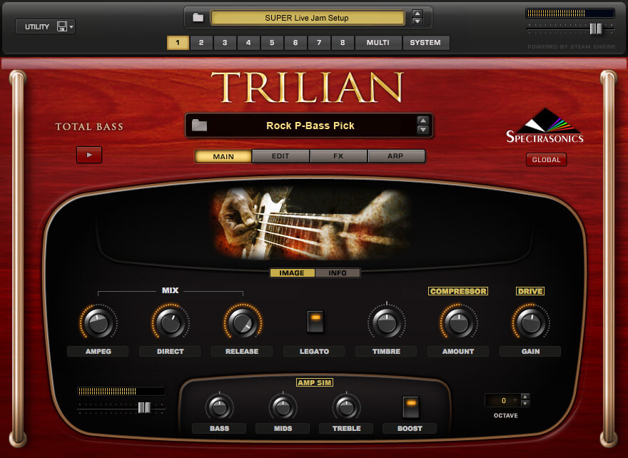 Spectrasonics Trilian Bass Module review- best guitar vst plugin fl studio, ableton, pro tools, logic pro, garage band, cubase