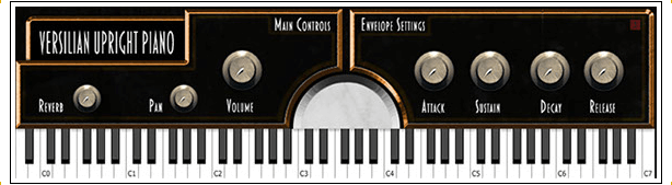 Versilian's Upright No.1 review - grand piano vst plugin free download
