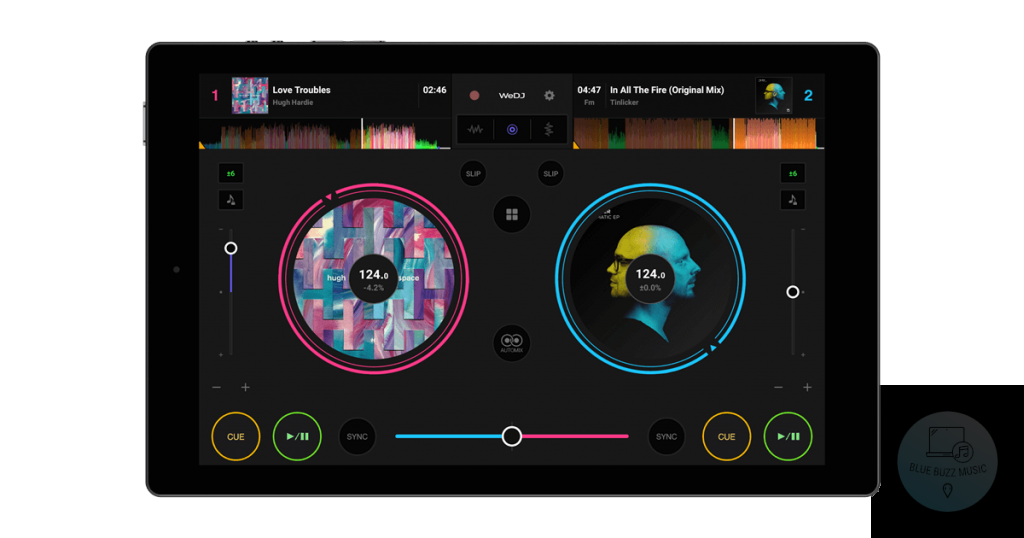 WeDJ by Pioneer DJ android mobile dj app free
