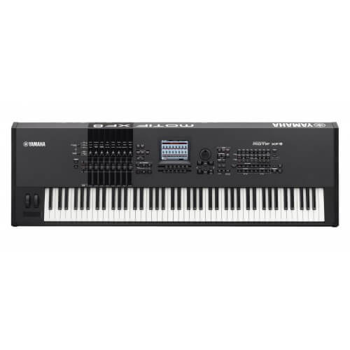 Yamaha MOTIF XF8 best keyboard for hip hop production