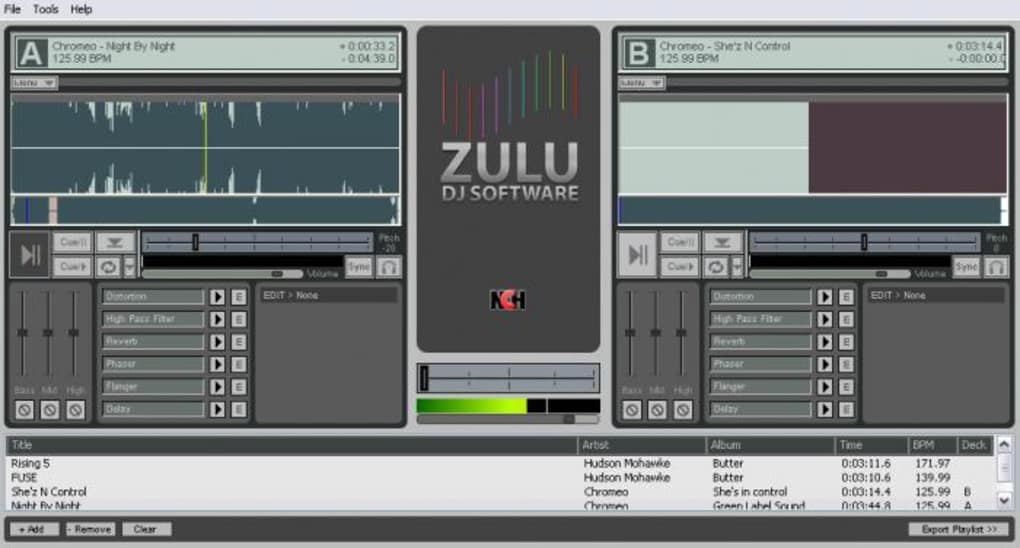 Zulu DJ free software for djing