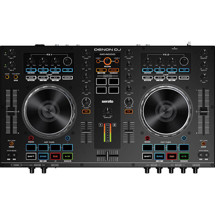 Denon DJ MC4000 - best durable dj controller under 00 standalone