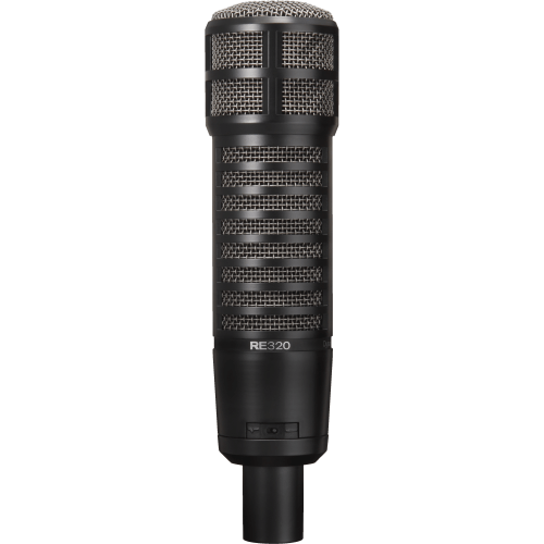 Electro-Voice RE320 - best dynamic microhpone for recording and streaming