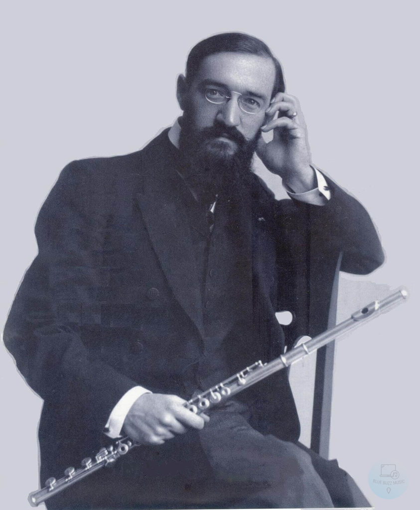Georges Barrère one of the most famous flutist in the world