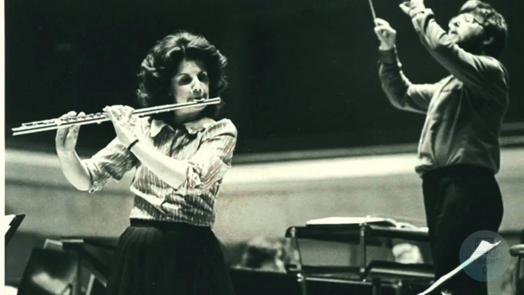 Jeanne Baxtresser most famous female flute player fluitist