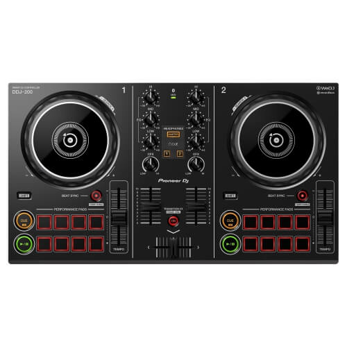 Pioneer DJ DDJ-200 - best cheap dj controller under 00 for beginners pioneer