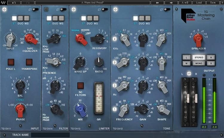 TG Mastering Chain - best mastering vst plugin for windows and mac