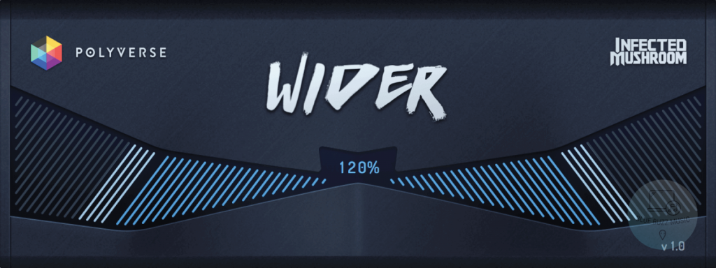 Wider by Polyverse Music free visual mastering plugin download