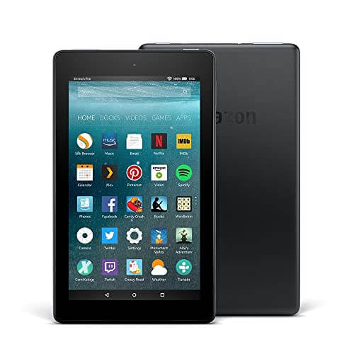 Amazon Fire Tablet 7 - best cheap tablet for listening to music and music production