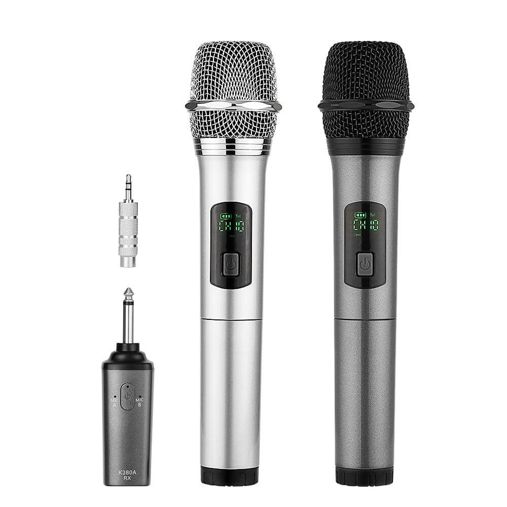 Archeer Dual Bluetooth Wireless Microphone - best dj microphone low-cost