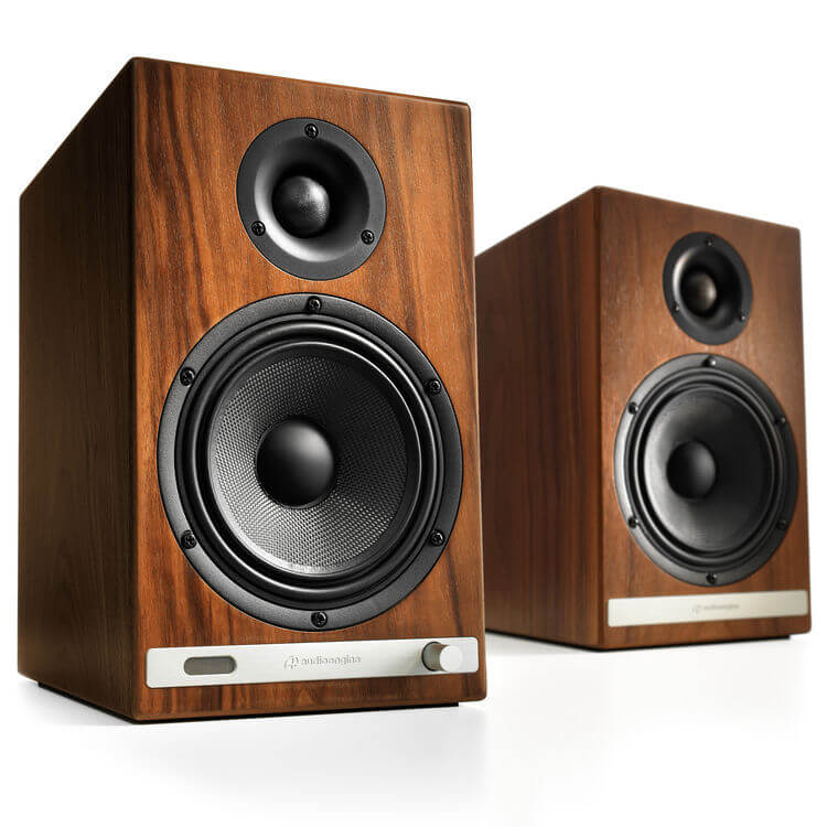 Audioengine HD6 - best wooden bookshelf speakers under 00