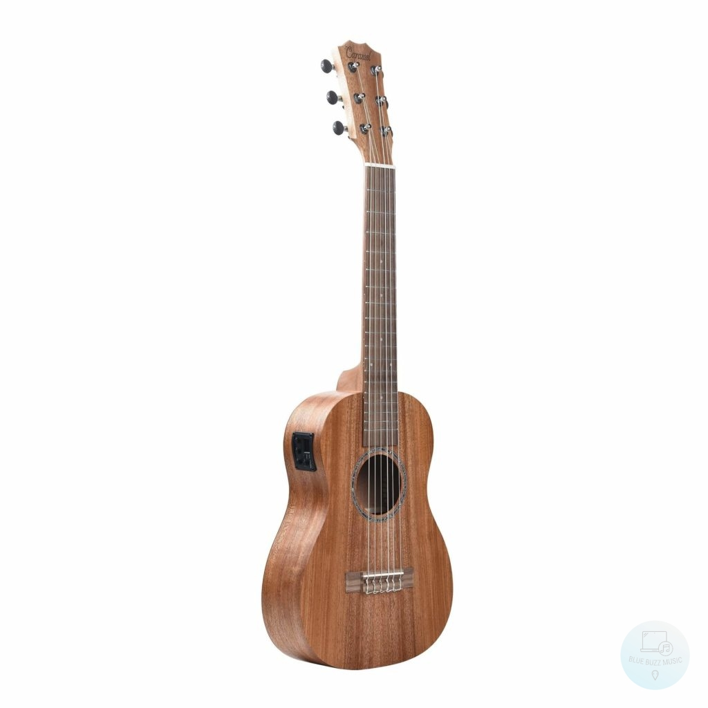 Caramel Acoustic-Electric Guitalele - best 6 string ukulele guitalele