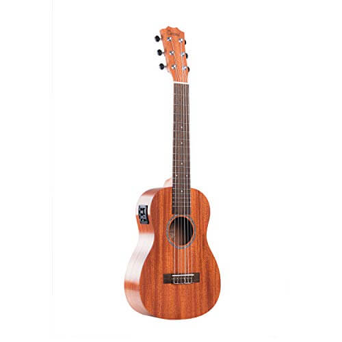 Caramel Mahogany Acoustic-Electric Guitalele - best cheap budget affordable guitalele