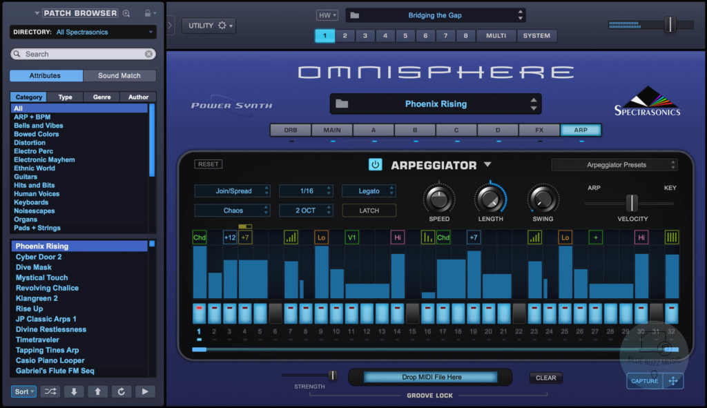 Omnisphere 2 (Spectrasonics) - best synth and rompler vst plugin for windows and mac computers