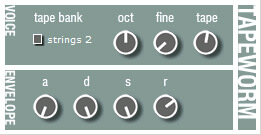 Tapeworm VST by TweakBench - best free mellotron vst plugin for pc and mac computers