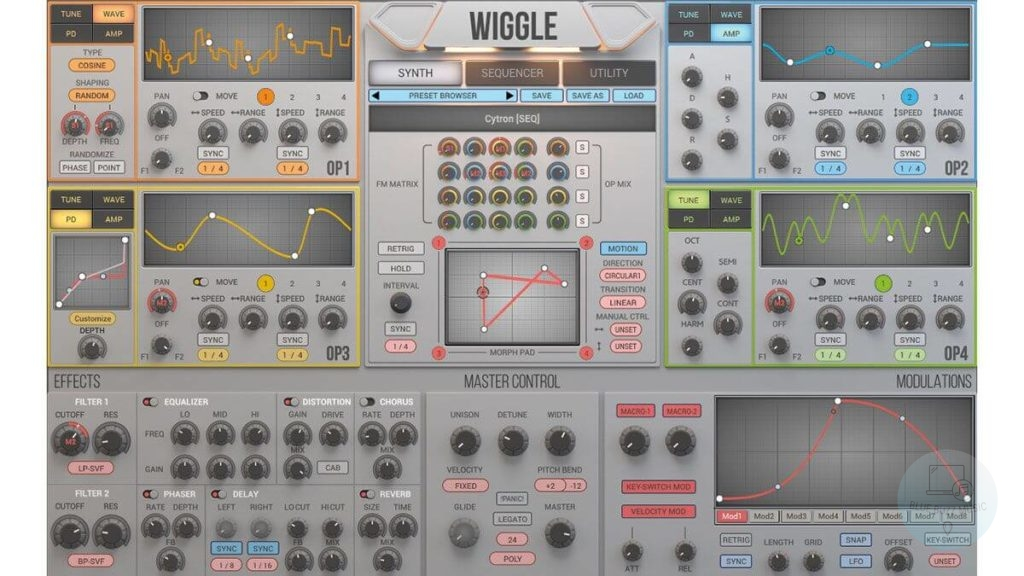 Wiggle (2Sense Audio) - top best synth and rompler vst plugin for music production and studio use