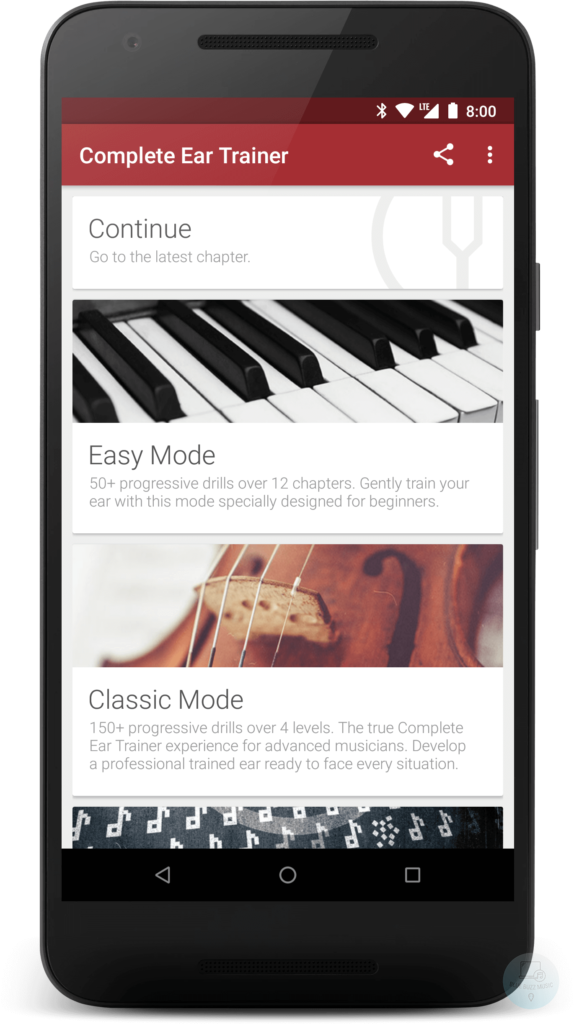 Complete Ear Trainer - free app for singers piano guitar players