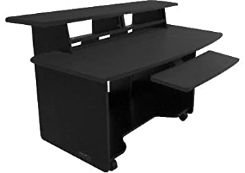Omnirax Presto Studio Desk - top best cheap home recording platform studio desk