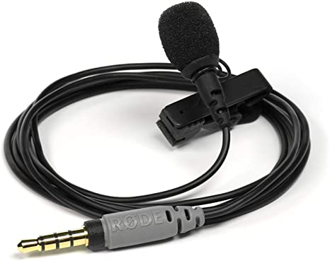 Rode SmartLav Lavalier Microphone - best budget cheap affordable microphone for smartphones and tablets
